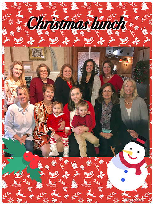 Christmas lunch at Portage Pediatric Dentistry